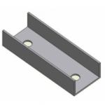 K2 Speed-Rail łącznik szyn(w zetawie z 2-calowymi śrubami Torx 4,8x16)