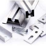 Łącznik profili montażowych 40x40 L=100 mm