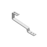 K2 hak dachowy nieregulowany (stal: hak 30x6mm, 150x60x5mm)