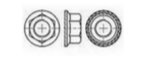 Nakrętka DIN 6923 A2 M8 Ząbkowana