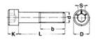 Śruba DIN 912 A2 8x45 (imbus)