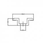Klem środkowy do paneli PV U 12