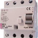 Wyłącznik R-P EFI6-4 40/0,1A, AC ochronny, GRUPA V
